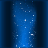 Abstract Background With Stars Stock Image