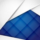 Abstract Background With White Paper Layers Royalty Free Stock Images