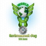 Abstract, background for World environment day Royalty Free Stock Photography