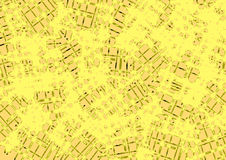Abstract background in yellow and beige tones Stock Image