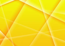 Abstract background of yellow color Stock Photography