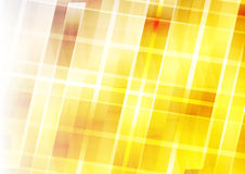 Abstract Background - Yellow Geometric Design Elements.  Royalty Free Stock Image
