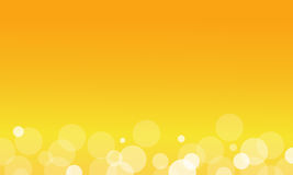 Abstract background of yellow light. Vector art stock illustration