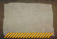 Abstract background with yellow lines Stock Image