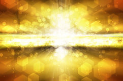 Abstract background in yellow orange Royalty Free Stock Photo