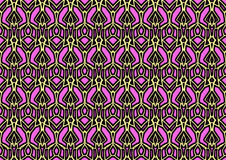 Abstract background in yellow and pink tones. Abstract backdrop with ornament from repeated patterns in yellow and pink tones, colorful background for  poster Royalty Free Stock Photos