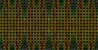 Abstract background yellow squares on a black stock photo