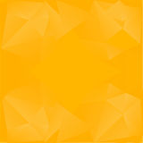 Abstract background in yellow tones. Vector icons. Abstract Creative concept vector background Stock Images