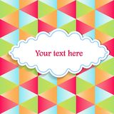 Abstract  background for your text Royalty Free Stock Photography