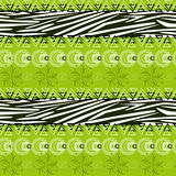 Abstract background with zebra skin pattern vector illustration