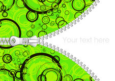 Abstract background with zipper Stock Photos