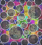 Dots retro background Royalty Free Stock Photos