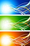 Abstract backgrounds. Stock Photo