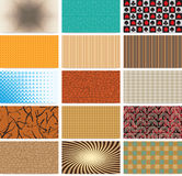 Abstract backgrounds. Set of abstract backgrounds for business cards Royalty Free Stock Photography