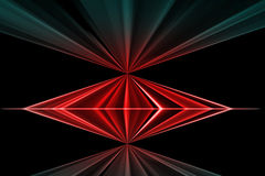 Abstract  backgrounds. Red and blue abstract  backgrounds Stock Photo