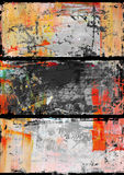 Abstract  backgrounds. Hand-painted background. SELF MADE Royalty Free Stock Images