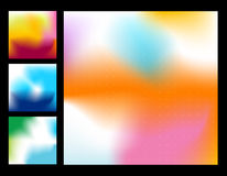 Abstract backgrounds. Set of Abstract design backgrounds - Business templates Stock Photos