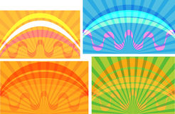 Abstract backgrounds. Abstract backgrounds, made at adobe illustrator x4 Royalty Free Stock Images