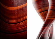 Abstract backgrounds. Red and abstract backgrounds. Red texture and waves over white Royalty Free Stock Photography