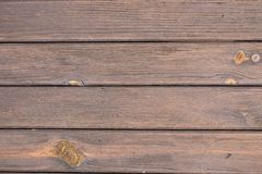 Abstract backgrounds: brown, older wooden planks royalty free stock photography