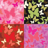 Abstract backgrounds with butterflies siluetes. An abstract backgrounds with butterflies siluetes Royalty Free Stock Photos