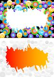 Abstract backgrounds with circles Royalty Free Stock Images
