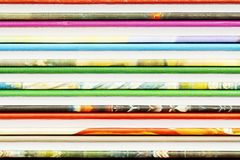Abstract backgrounds from color book covers Royalty Free Stock Photo