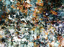 Abstract Backgrounds color collage with spots and desert crackle. Stock Image