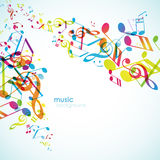 Abstract backgrounds with colorful tunes. Vector art Royalty Free Stock Photos