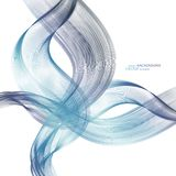 Abstract backgrounds with colorful wavy lines. Elegant wave design. Vector technology. EPS 10 Royalty Free Stock Photo