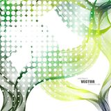 Abstract backgrounds with colorful wavy lines. Elegant wave design. Vector technology. EPS 10 Royalty Free Stock Image