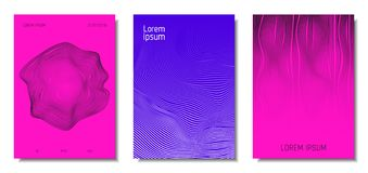 Abstract Backgrounds with 3d Effect. vector illustration