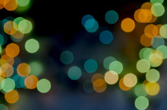 Abstract backgrounds on green and blue blur Royalty Free Stock Photos