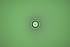 Abstract backgrounds - green diffraction patterns Royalty Free Stock Images