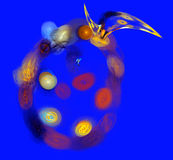 Abstract backgrounds multicolor illustration Stock Photo