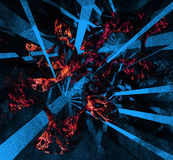 Abstract backgrounds multicolor illustration Stock Image