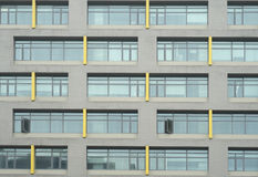 Abstract Backgrounds of Office Building Windows Royalty Free Stock Photography