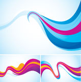 Flow abstract background Royalty Free Stock Image