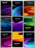 Abstract backgrounds set Royalty Free Stock Image