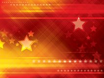 Abstract backgrounds with stars. Abstract red and orange backgrounds with stars vector illustration Royalty Free Stock Image
