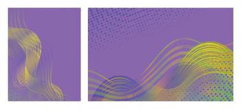 Abstract  backgrounds with trendy colorful design for brochures, posters, presentations and banners. stock image