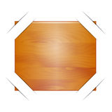 Abstract  backgrounds with wooden plate.  Stock Photos