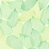 Abstract backgroung with leaflets. Abstract backgroung with green leaflets stock illustration