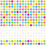 Abstract Backround. Background pattern with colorful dots and place for text Royalty Free Stock Image