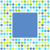 Abstract Backround. Background pattern with colorful dots and place for text Stock Image