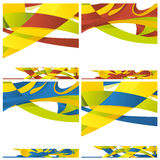 Abstract backround of different colors Stock Image