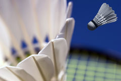 Abstract badminton closeup Royalty Free Stock Images
