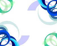 Abstract Baground or Banner Half Circle vector illustration