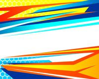 Abstract Baground Racing royalty free illustration