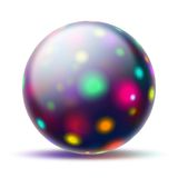 Abstract ball royalty free stock photo